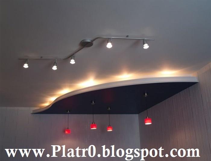 Decorative De Faux Plafond Spot - Décoration Platre Maroc - Faux ...