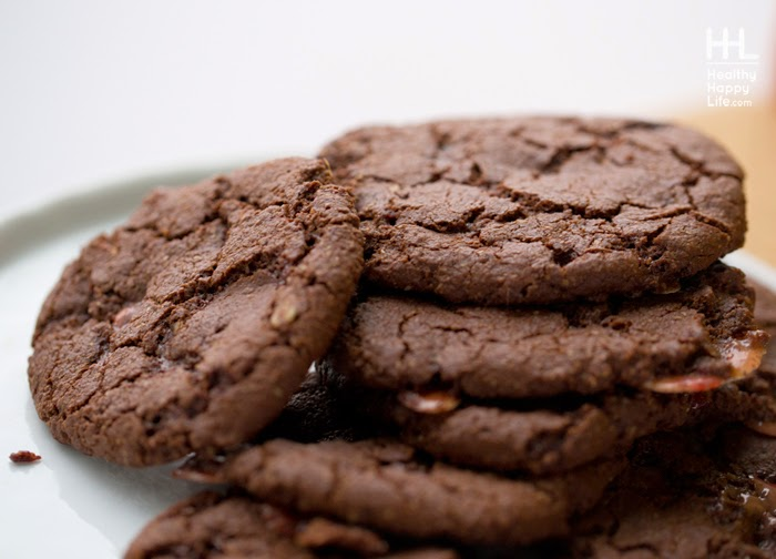 Kathy's Candy Cane Cocoa Cookies |