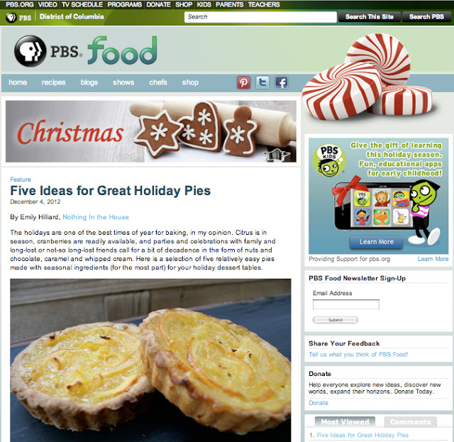 Holiday Pies on PBS Food