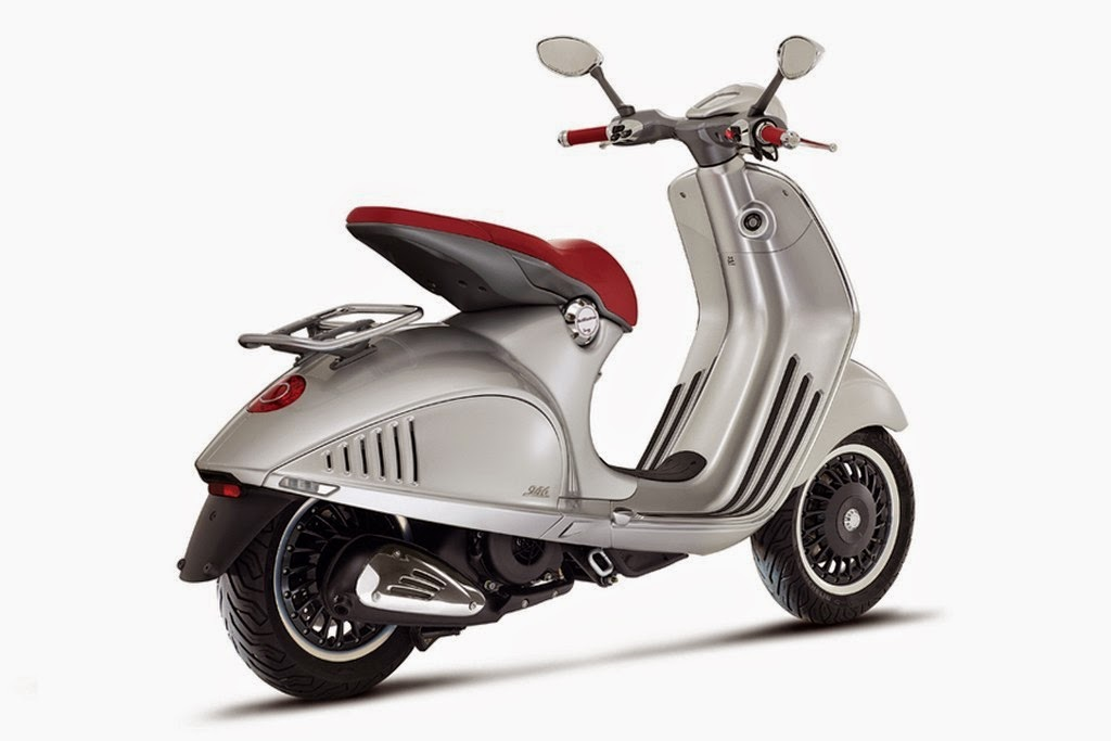 Vespa 946 Bellisima Grey Metallic