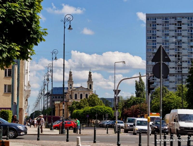 Wola kościół kamienica tory kładka getto Warszawa warszawskie mozaiki