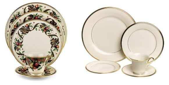 Take a look at these gorgeous ensembles by Better Homes and Gardens. Just as nice as more expensive fine dinnerware found at upscale retailers ...  sc 1 st  a gift set for the holiday season and beyond - Blogger & This and That : CHRISTMAS COLLECTIBLE DINNERWARE