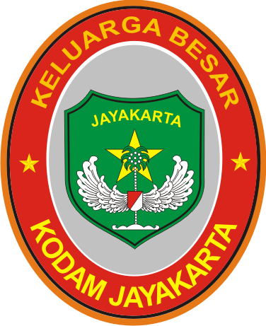 Stiker Kodam Jayakarta