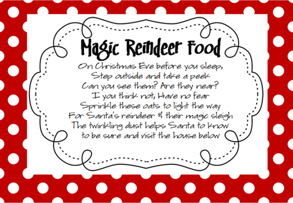 Reindeer Dust Labels | Search Results | Calendar 2015