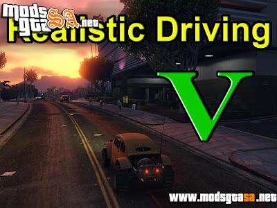 V - Condução Realista para GTA V PC