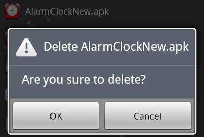 Menghapus aplikasi bawaan pabrik android