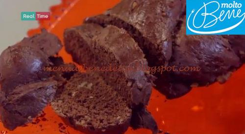 Pane al cioccolato ricetta Parodi per Molto Bene