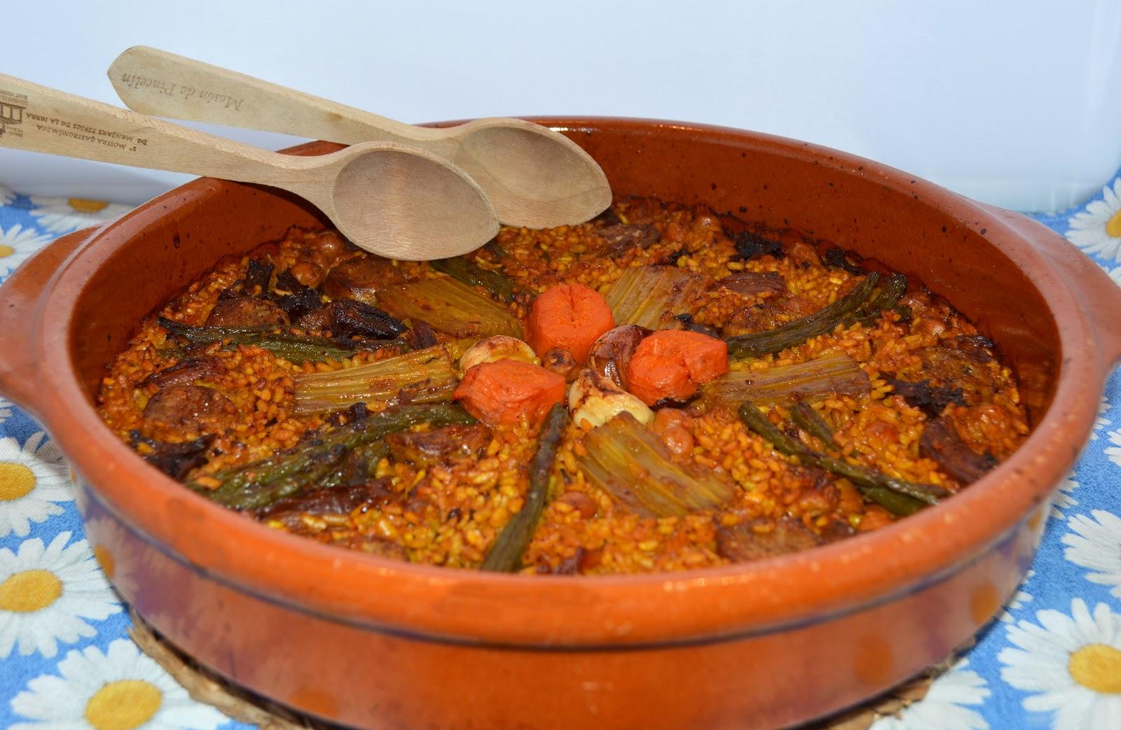 Cocinar con c arroz al horno de cocido for Cocinar gambas al horno