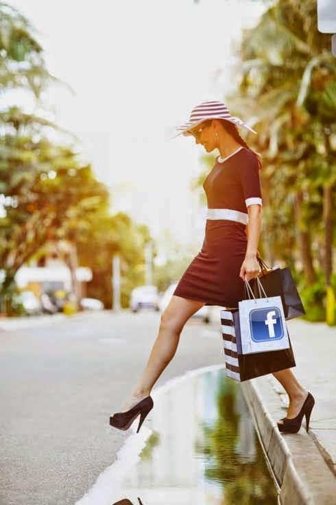 como montar um brechó online no facebook vender roupas usadas