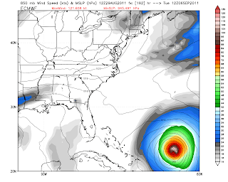 The Weather Centre: ECMWF goes west with Invest 92L; East Coast At
