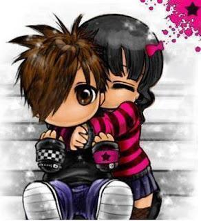 Imagen de amor estilo Emo