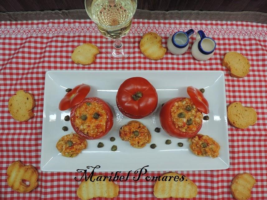 La de rellenos que admiten los tomates. Descubre el que te proponemos aquí