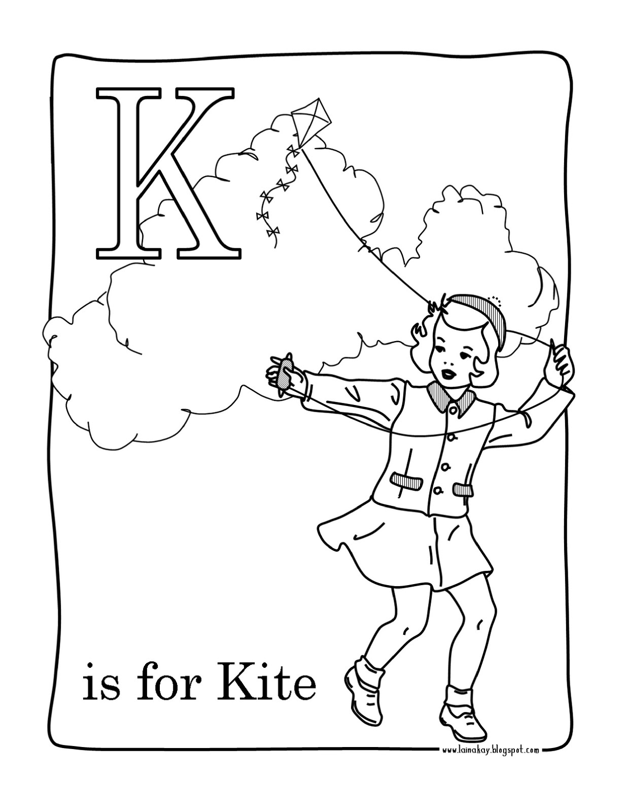 goodness gracious k is for kite