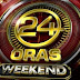 24 Oras Weekend 25 January 2015