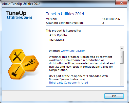 Tune Up Utilities Update 2014 with Keygen