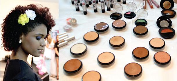 maquiagem para peles negras e morenas - po compacto - afro - anaconda cosmeticos