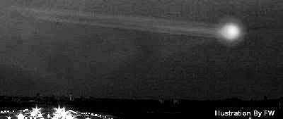 UFO Streaking Above Polson Remains a Mystery