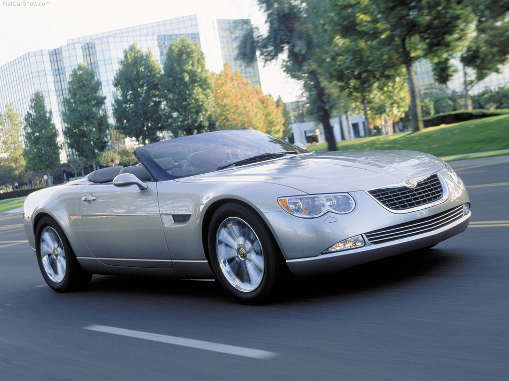 daily concept cars the 2000 chrysler 300 hemi c convertible concept. Black Bedroom Furniture Sets. Home Design Ideas