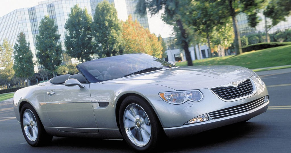 Daily Concept Cars The 2000 Chrysler 300 Hemi C Convertible Concept