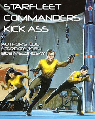 a book bob melonosky wrote about space guys kicking ass