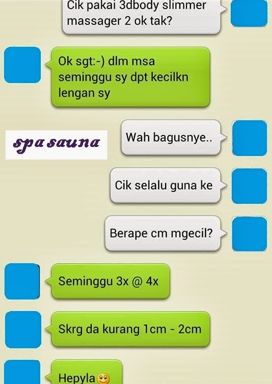 TESTIMONI:3D BODY SLIMMER MASSAGER