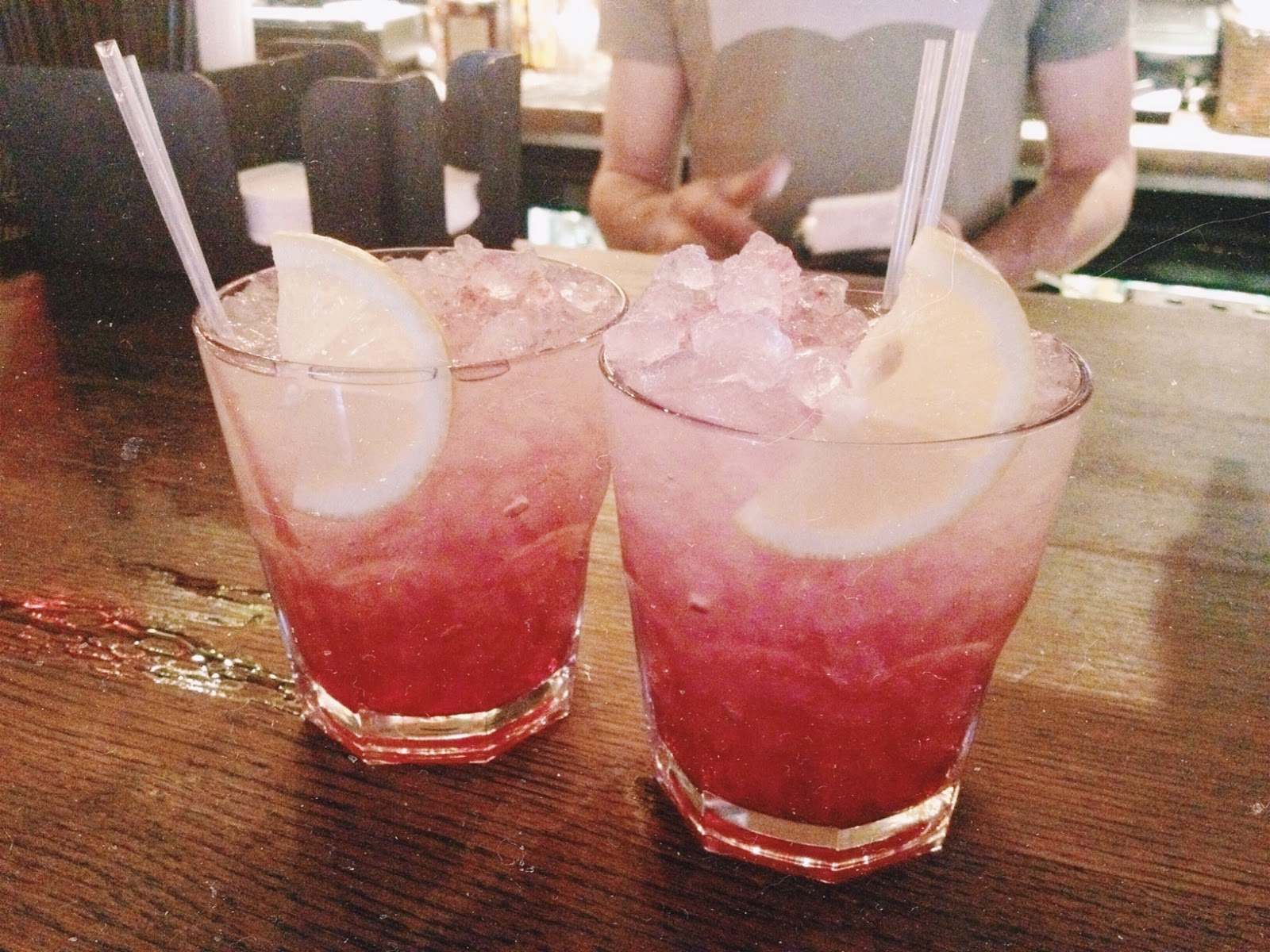 wenlock and essex bramble cocktails
