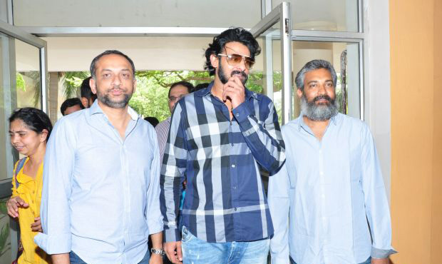 Baahubali Movie Press Meet HD Images   Prabhas   Rajamouli