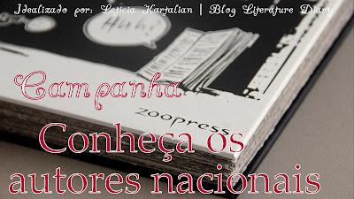 """Projeto """"Conheça os autores nacionais"""""""