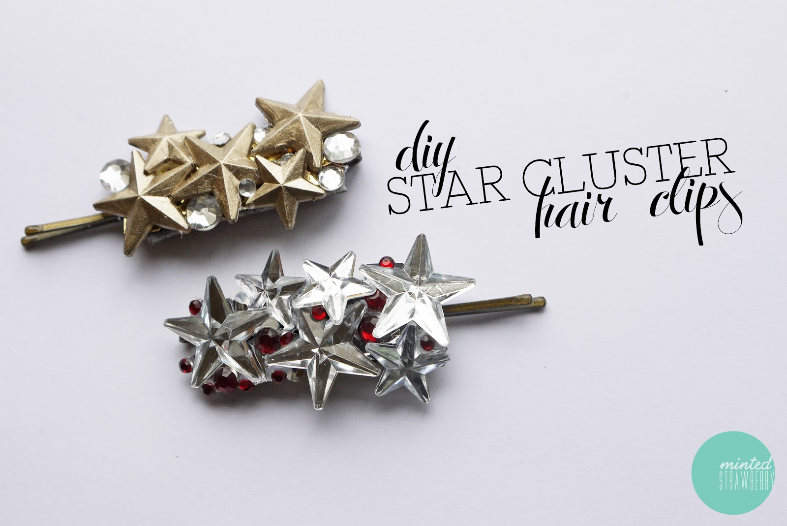 DIY Christmas Giftables: Star Cluster Hair Clip - Minted ...