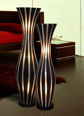 desain vas bunga lantai untuk memercantik ruangan