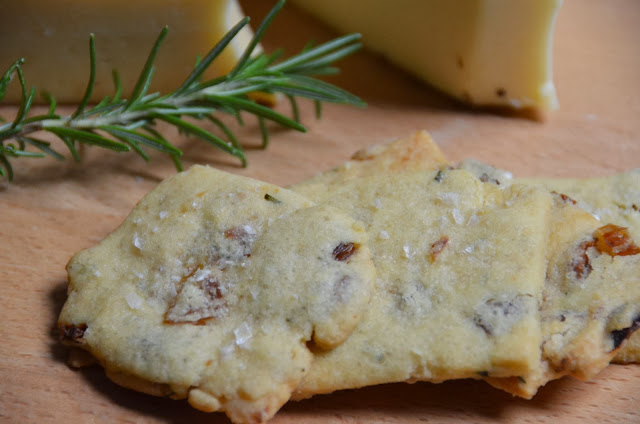 Rosemary Raisin Shortbread - Close Up