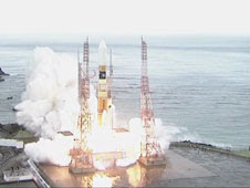 H-IIB launch vehicle carrying Japan's Kounotori3 cargo craft