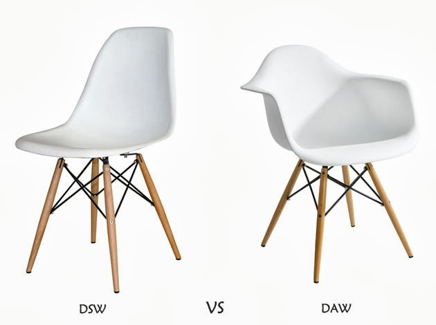 Chair dilemma eames dsw vs daw petite apartment for Chaise eames dsw