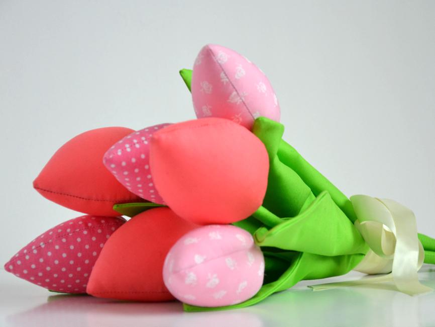 шьем цветы из ткани