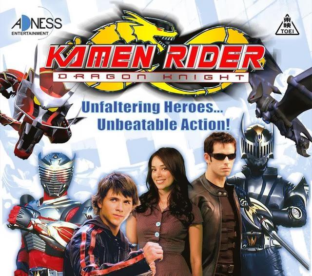 Kamen Rider Dragon Knight, versi Amerika dari Kamen Rider Ryuki