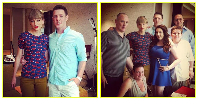 Taylor Swift and Kevin McGuire