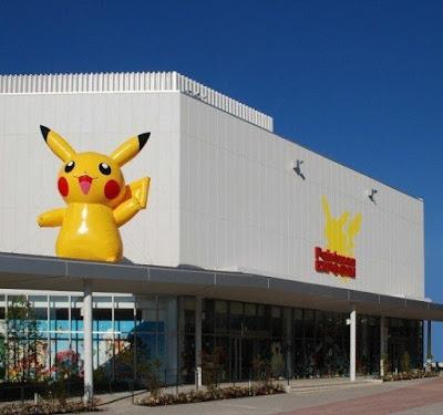 Ginásio Pokémon em Osaka