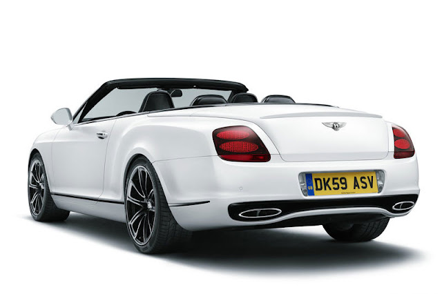 2011 Bentley Continental Supersports Convertible Back Exterior
