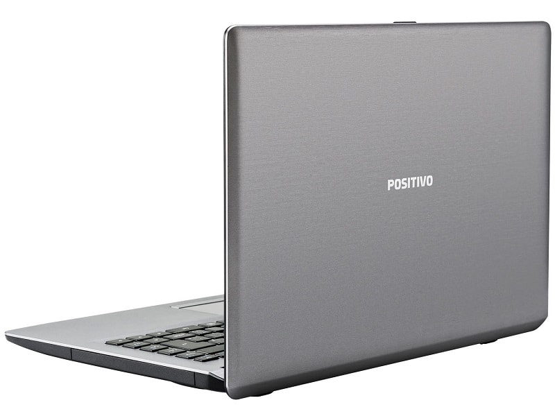 Notebook Positivo Celeron com 2.0 GHz de velocidade