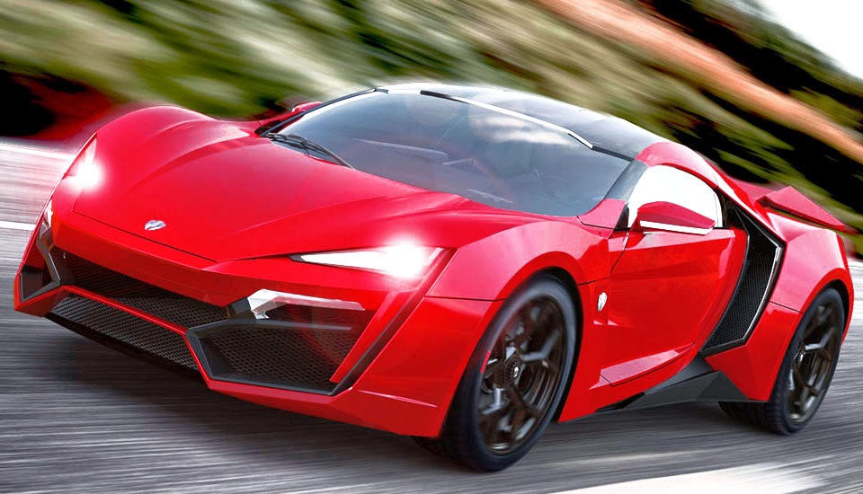 Red Lykan Hypersport Wallpaper