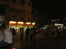 """Nightlife on New Years Eve in Kamatipura."
