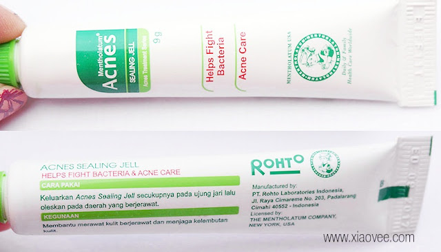 Acnes Sealing Jell Review, Mentholatum Acnes Sealing Jell, Review obat jerawat