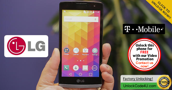 Factory Unlock Code for LG Leon from T-Mobile