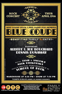 Event: Family ReEntry's Benefit Concert Starring Blue Coupe, April 13, 2017!