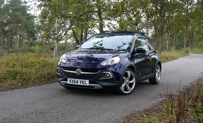 Vauxhall Adam Rocks Air front view