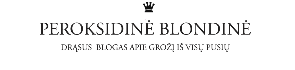 PEROKSIDINĖ BLONDINĖ