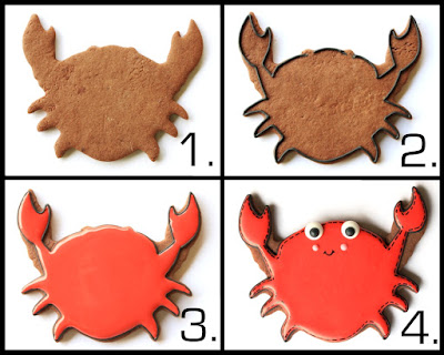 How to make under the sea decorated cookies -- tutorials