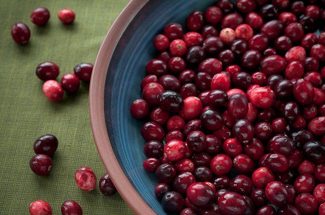 蔓越莓有很好的抗氧化和預防泌尿道感染的功能