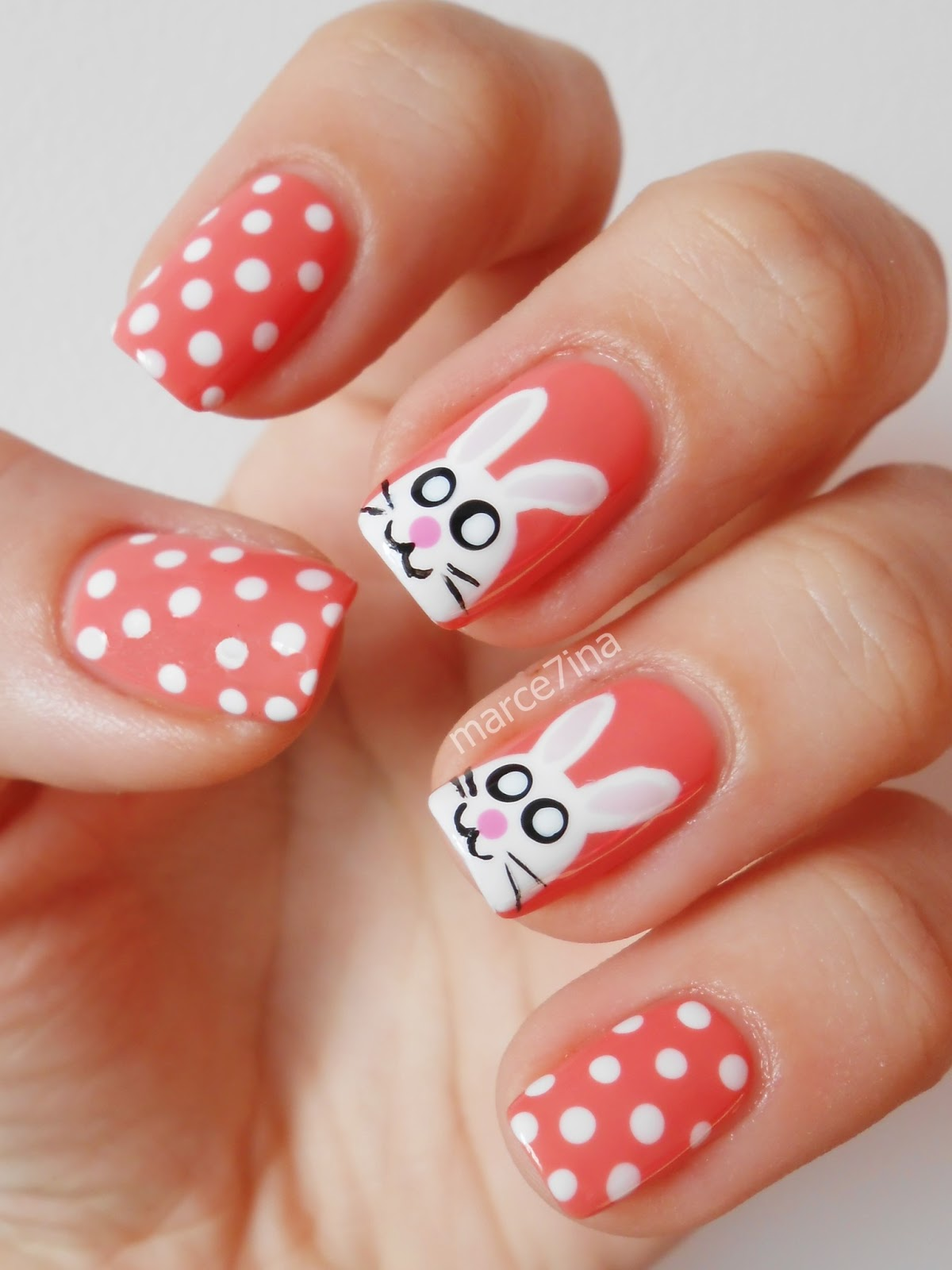 9 Simple Easter Nail Art Designs With Pictures