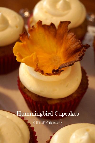 third and patterson hummingbird cupcakes